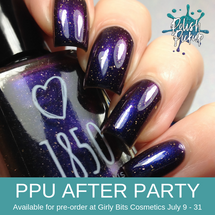 The Final Problem by 1850 Artisan Polish (PPU 2019 After Party Pre-Order) AVAILABLE FOR PRE-ORDER AT GIRLY BITS COSMETICS July 9th - 31st www.girlybitscosmetics.com