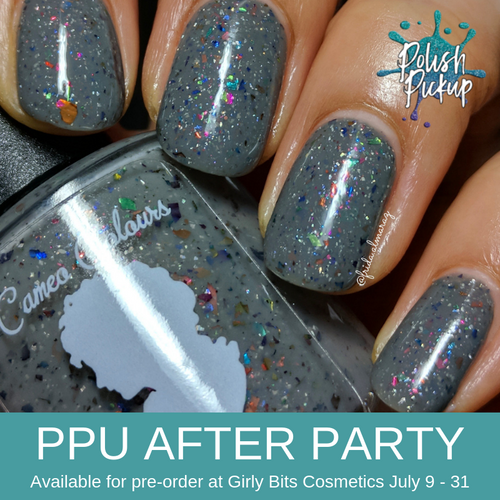 'Til We Both See the Light  by Cameo Colours Lacquers (PPU 2019 After Party Pre-Order) AVAILABLE FOR PRE-ORDER AT GIRLY BITS COSMETICS July 9th - 31st www.girlybitscosmetics.com   Photo credit: @frida.almaraz