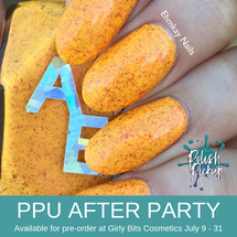 Altarf Nail Enamel AKA Beta Cancri by Alter Ego (PPU 2019 After Party Pre-Order) AVAILABLE FOR PRE-ORDER AT GIRLY BITS COSMETICS July 9th - 31st www.girlybitscosmetics.com | Photo credit: EhmKay Nails