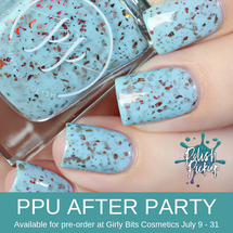 Ice & Fire by Painted Polish (PPU 2019 After Party Pre-Order) AVAILABLE FOR PRE-ORDER AT GIRLY BITS COSMETICS July 9th - 31st www.girlybitscosmetics.com | Photo credit: