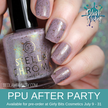The Whole Brevity Thing by STELLA CHROMA (PPU 2019 After Party Pre-Order) AVAILABLE FOR PRE-ORDER AT GIRLY BITS COSMETICS July 9th - 31st www.girlybitscosmetics.com