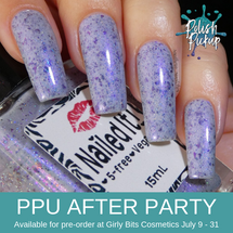 The Jackal by Nailed It Nail Polish (PPU 2019 After Party Pre-Order) AVAILABLE FOR PRE-ORDER AT GIRLY BITS COSMETICS July 9th - 31st www.girlybitscosmetics.com |