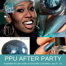 Flip It N Reverse It by Baby Girl Lacquer (PPU 2019 After Party Pre-Order) AVAILABLE FOR PRE-ORDER AT GIRLY BITS COSMETICS July 9th - 31st www.girlybitscosmetics.com |