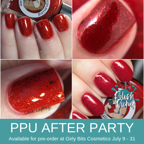 Delicious Surprise by Lemming Lacquer (PPU 2019 After Party Pre-Order) AVAILABLE FOR PRE-ORDER AT GIRLY BITS COSMETICS July 9th - 31st www.girlybitscosmetics.com