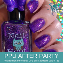 The Snozzberries Taste Like Snozzberries by Nail Hoot (PPU 2019 After Party Pre-Order) AVAILABLE FOR PRE-ORDER AT GIRLY BITS COSMETICS July 9th - 31st www.girlybitscosmetics.com