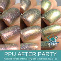 ....whatever by Great Lakes Lacquer (PPU 2019 After Party Pre-Order) AVAILABLE FOR PRE-ORDER AT GIRLY BITS COSMETICS July 9th - 31st www.girlybitscosmetics.com