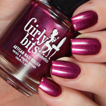 Beets Me (Sept 2019 CoTM) by Girly Bits Cosmetics AVAILABLE AT GIRLY BITS COSMETICS www.girlybitscosmetics.com  | Photo credit: Cosmetic Sanctuary