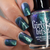 Tattle-Teal (Sept 2019 CoTM) by Girly Bits Cosmetics AVAILABLE AT GIRLY BITS COSMETICS www.girlybitscosmetics.com  | Photo credit: Manicure Manifesto