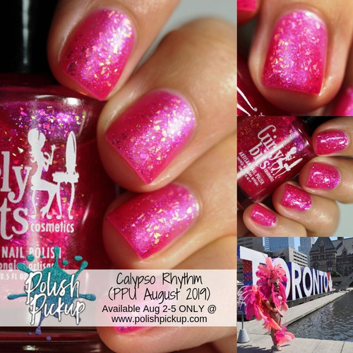 Calypso Rhythm (PPU July  2019 - Carnival Theme) inspired by The Toronto Caribbean Carnival (formerly known as Caribana) AVAILABLE AT POLISH PICKUP www.polishpickup.com