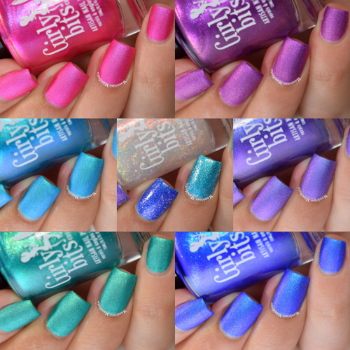 Misheard Lyrics Collection by Girly Bits Cosmetics AVAILABLE AT GIRLY BITS COSMETICS www.girlybitscosmetics.com | Photo credit: Manicure Manifesto