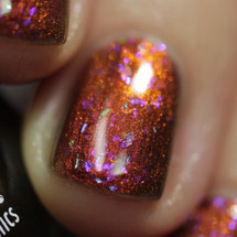 Pumpkin Sumthin'  (October 2019 CoTM) by Girly Bits Cosmetics AVAILABLE AT GIRLY BITS COSMETICS www.girlybitscosmetics.com  | Photo credit: Streets Ahead Style