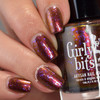 Pumpkin Sumthin'  (October 2019 CoTM) by Girly Bits Cosmetics AVAILABLE AT GIRLY BITS COSMETICS www.girlybitscosmetics.com  | Photo credit: Manicure Manifesto