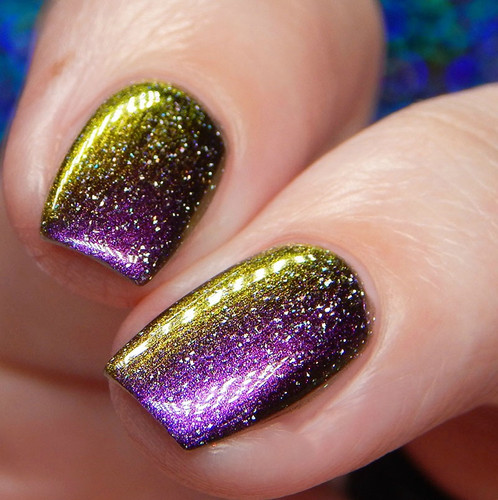 Hell Raisin' (October 2019 CoTM) by Girly Bits Cosmetics AVAILABLE AT GIRLY BITS COSMETICS www.girlybitscosmetics.com  | Photo credit: Cosmetic Sanctuary