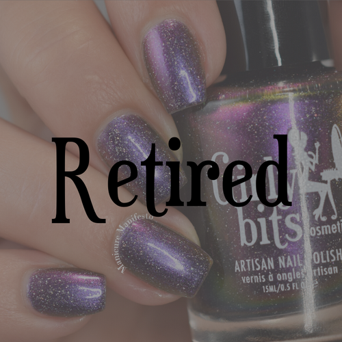 Hell Raisin' (October 2019 CoTM) by Girly Bits Cosmetics AVAILABLE AT GIRLY BITS COSMETICS www.girlybitscosmetics.com  | Photo credit: Manicure Manifesto