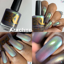 Arachne from the IEC 2019 Limited Editions Trio by Bee's Knees Lacquer AVAILABLE AT GIRLY BITS COSMETICS www.girlybitscosmetics.com   Photo credit: Queen of Nails 83