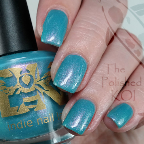 Shtriga from the IEC 2019 Limited Editions Trio by Bee's Knees Lacquer AVAILABLE AT GIRLY BITS COSMETICS www.girlybitscosmetics.com | Photo credit: The Polished Koi