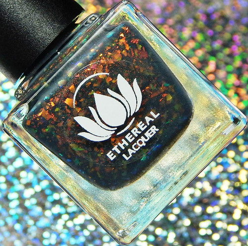 Moonlit Storm from the Moonlit Collection by Ethereal Lacquer AVAILABLE AT GIRLY BITS COSMETICS www.girlybitscosmetics.com | Photo credit: Cosmetic Sanctuary