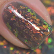 Moonlit Storm from the Moonlit Collection by Ethereal Lacquer AVAILABLE AT GIRLY BITS COSMETICS www.girlybitscosmetics.com | Photo credit: Polished to the Nines