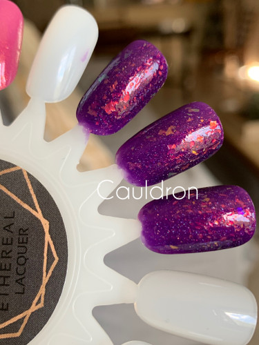 Cauldron by Ethereal Lacquer AVAILABLE AT GIRLY BITS COSMETICS www.girlybitscosmetics.com |