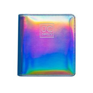Mini Holographic Nail Stamp Storage Binder by Uber Chic Beauty AVAILABLE AT GIRLY BITS COSMETICS www.girlybitscosmetics.com