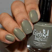 Sage Against the Machine from the Fall 2019 Collection by Girly Bits Cosmetics AVAILABLE AT GIRLY BITS COSMETICS www.girlybitscosmetics.com | Photo credit: The Polished Mage