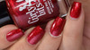 Because I Cran  (November 2019 CoTM) by Girly Bits Cosmetics AVAILABLE AT GIRLY BITS COSMETICS www.girlybitscosmetics.com  | Photo credit: Manicure Manifesto