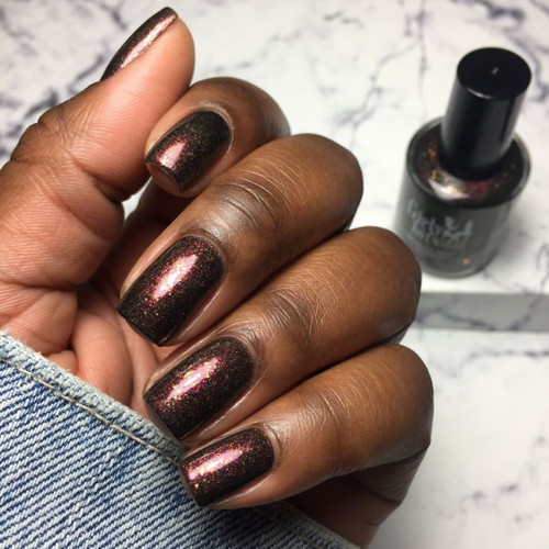 Let's Get Basted  (November 2019 CoTM) by Girly Bits Cosmetics AVAILABLE AT GIRLY BITS COSMETICS www.girlybitscosmetics.com  | Photo credit: Your Girl Vee