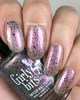 Aww Flake, It's Over? (Dec 2019 CoTM) by Girly Bits Cosmetics AVAILABLE AT GIRLY BITS COSMETICS www.girlybitscosmetics.com  | Photo credit: Ehmkay Nails