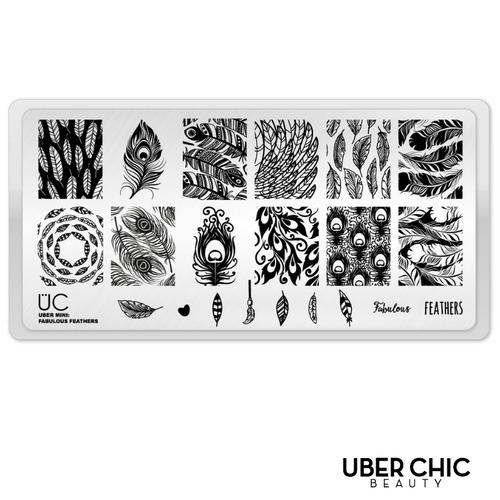 Fabulous Feathers (Mini) by Uber Chic Beauty AVAILABLE AT GIRLY BITS COSMETICS www.girlybitscosmetics.com