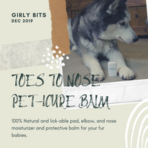 Toes to Nose Pet-icure Balm by Girly Bits Cosmetics. Photo: Polished to the Nines