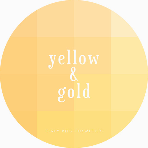 Girly Bits Prototypes - Yellows and Golds