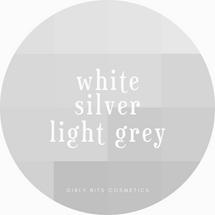 Girly Bits Prototypes - White, Light Grey, & Silver