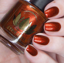 Persimmon from the Fruity Juicy Collection by Ethereal Lacquer AVAILABLE AT GIRLY BITS COSMETICS www.girlybitscosmetics.com | Photo credit: Cosmetic Sanctuary