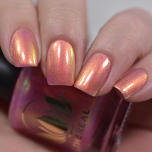 Guava from the Fruity Juicy Collection by Ethereal Lacquer AVAILABLE AT GIRLY BITS COSMETICS www.girlybitscosmetics.com | Photo credit: Polished to the Nines