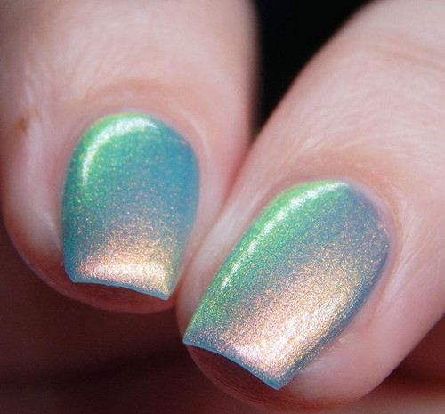 Arctic Chill by Ethereal Lacquer AVAILABLE AT GIRLY BITS COSMETICS www.girlybitscosmetics.com | Photo credit: Cosmetic Sanctuary