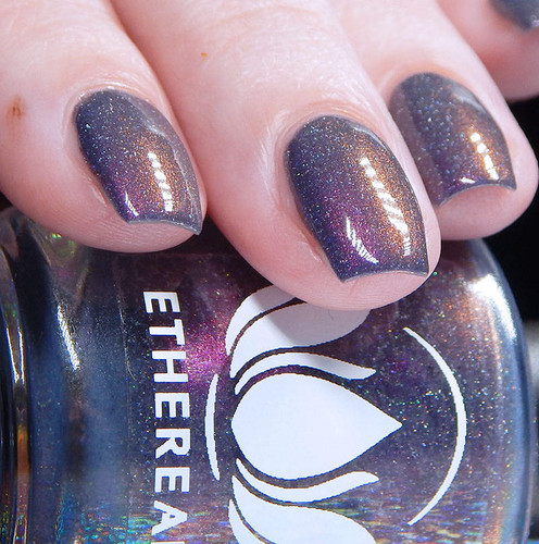 Desert Glow by Ethereal Lacquer AVAILABLE AT GIRLY BITS COSMETICS www.girlybitscosmetics.com | Photo credit: Cosmetic Sanctuary