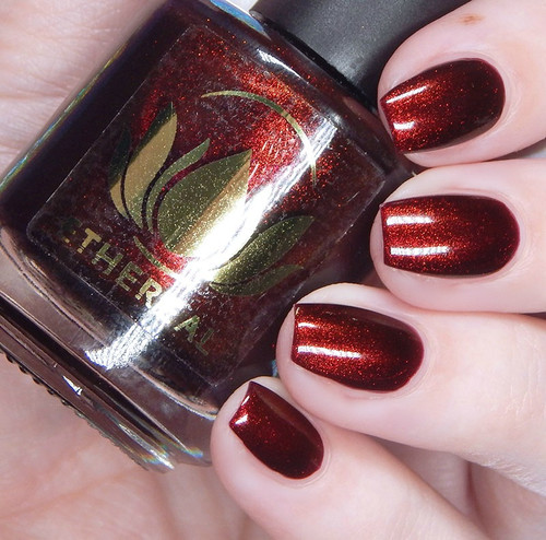Very Cherry nail polish by Ethereal x Matterhorn