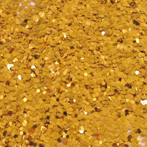 Classic Gold .040 Hex Glitter