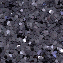 Gunmetal .040 Hex Glitter