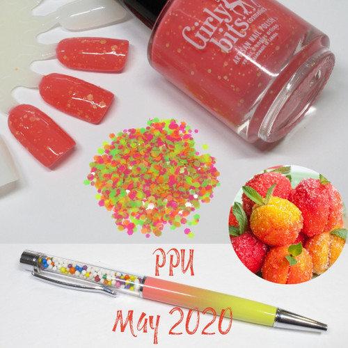 Yellow Polka Dot Bellini |  PPU May 2020 | Girly Bits