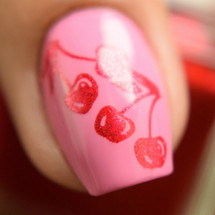 Cherry Slush {SPrinkle of the Month - May} by Cuticula