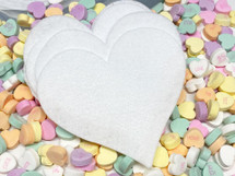 Heart Shaped Felt Remover Pads (pkg of 10) by Lumen