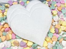Heart Shaped Felt Remover Pads (pkg of 10) by Lumen