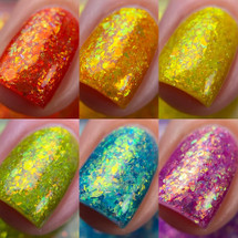 Taste The Rainbow full 6pc collection by Nailed It!