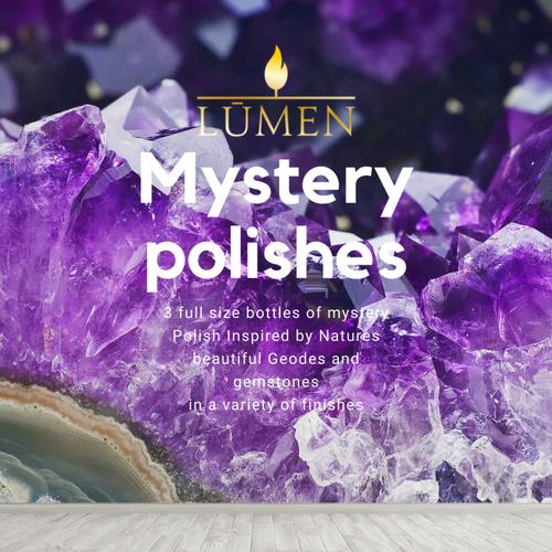 Mystery Bag (3pc) Geodes & Gemstones inspired by Lumen