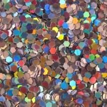 Silver Holo .040 Hex Glitter
