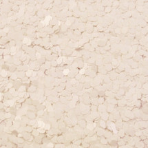 Matte White .062 Hex Glitter