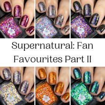 Supernatural 6pc Collection by Nailed It Hawaii