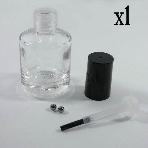 15 mL round nail polish bottle with cap   Girly Bits Cosmetics
