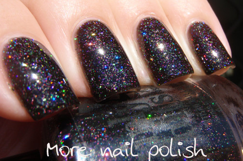 Swatch courtesy of More Nail Polish | GIRLY BITS COSMETICS Into The Night